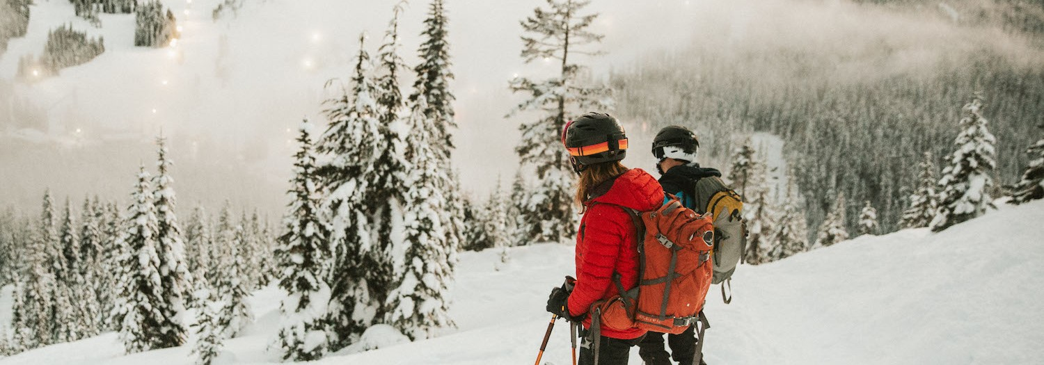 Kim + Kevin | Backcountry Skiing Adventure Session in the Cascades