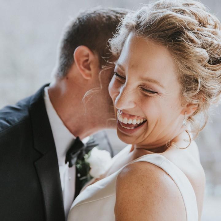 Nick + Nicole | Winter Wedding in Chimney Rock