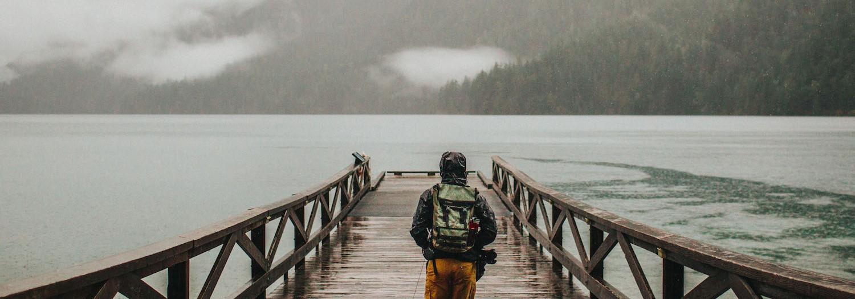 Rainy Day at Lake Crescent | Washington