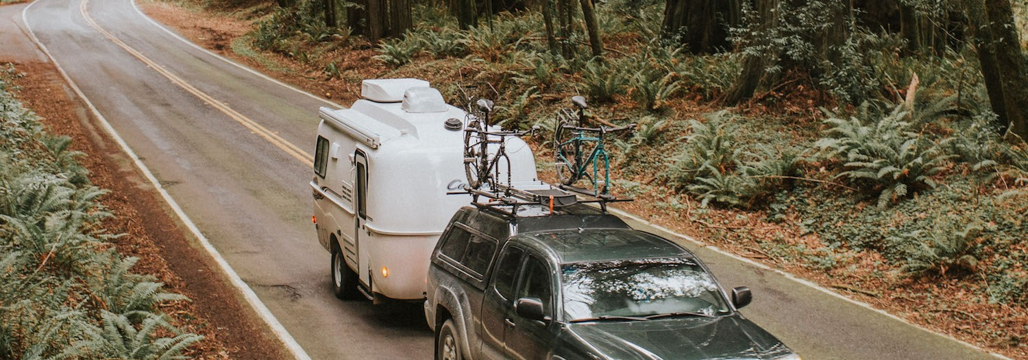 Camping in the Humboldt Redwoods | California