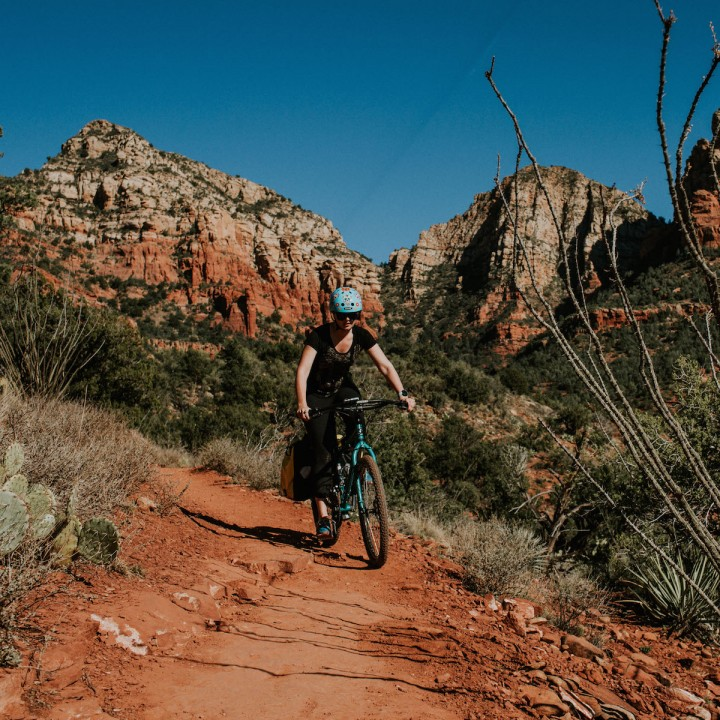Mountain Biking Devil's Bridge | Arizona
