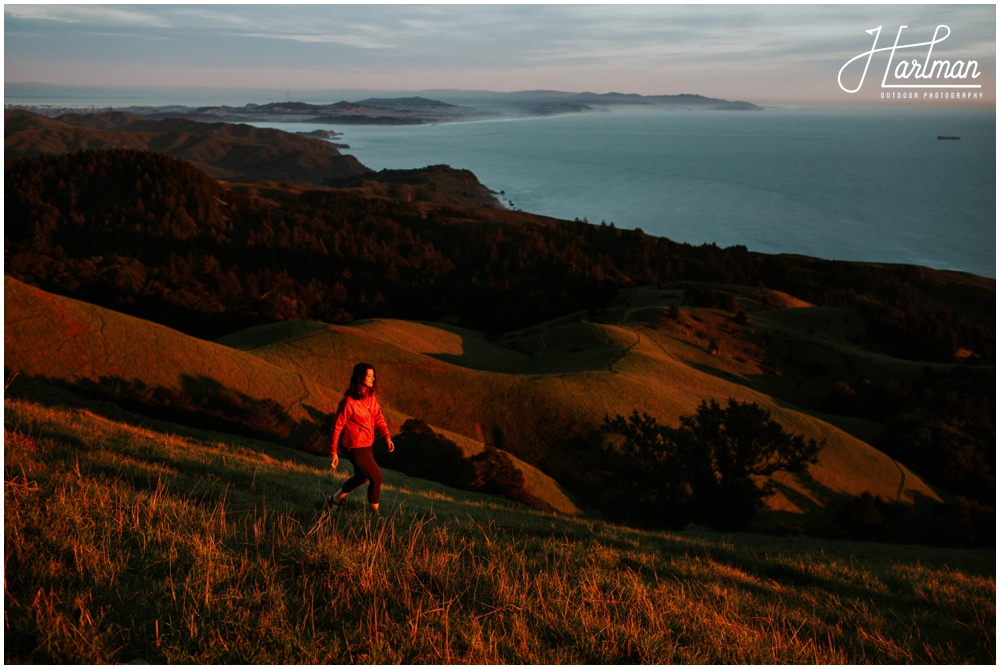 Sunset on Mt Tamalpais _0017