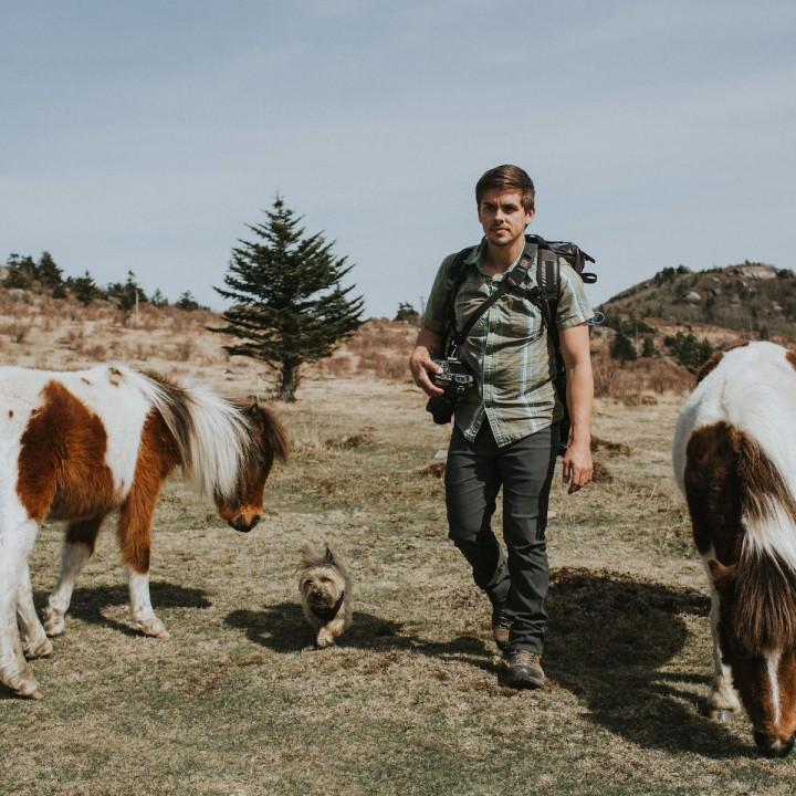 Hiking in Grayson Highlands   Virginia