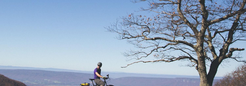 Camping and Biking in Shenandoah National Park, Virginia