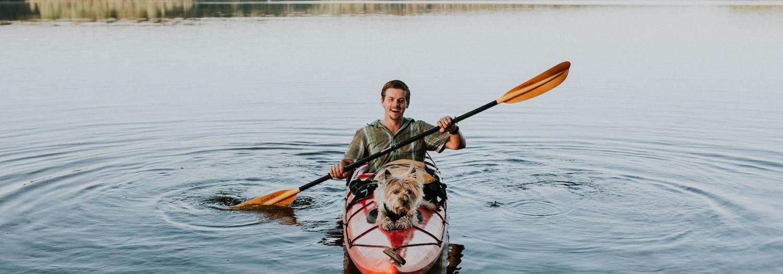 Camping at Jordan Lake  North Carolina