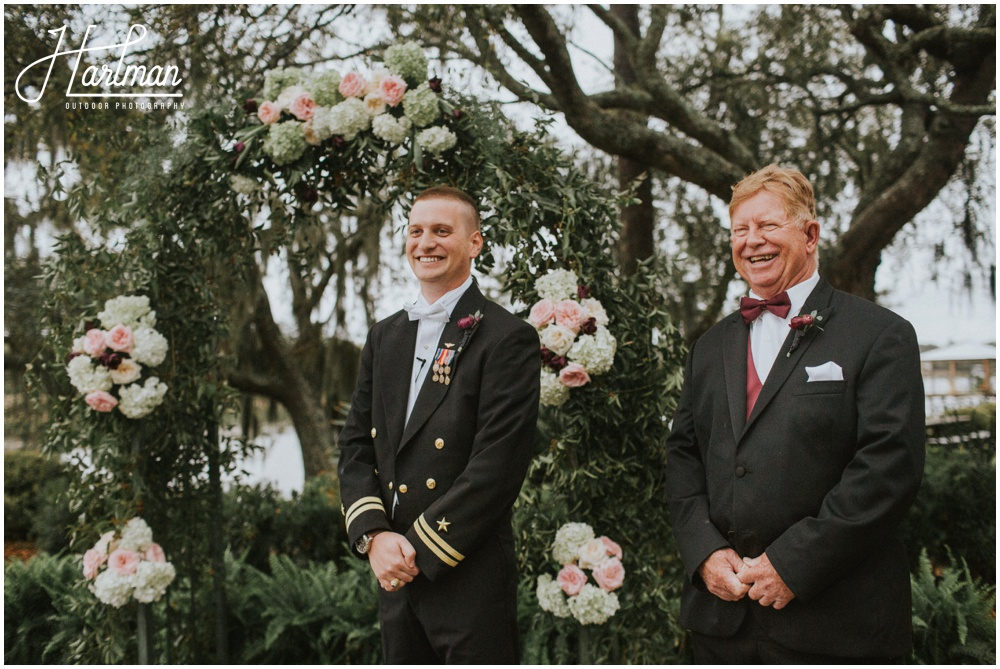 Middleton Place Charleston Outdoor Wedding Ceremony _0090
