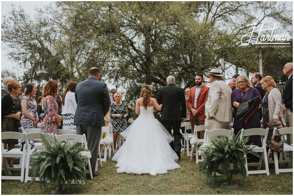 Middleton Place Outdoor Wedding Ceremony _0095