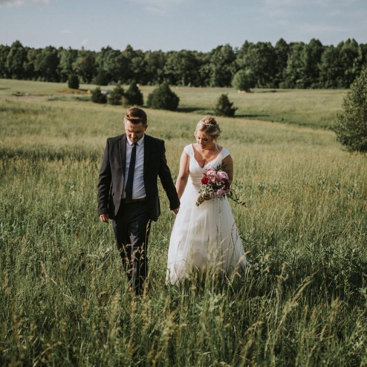 Amber + Johnnie | North Carolina Countryside Elopement
