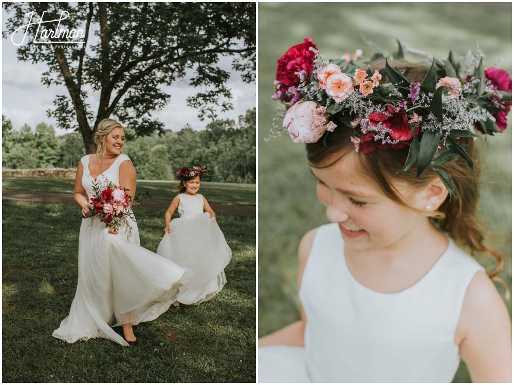 Asheville North Carolina Bridal Flower Crown _0035