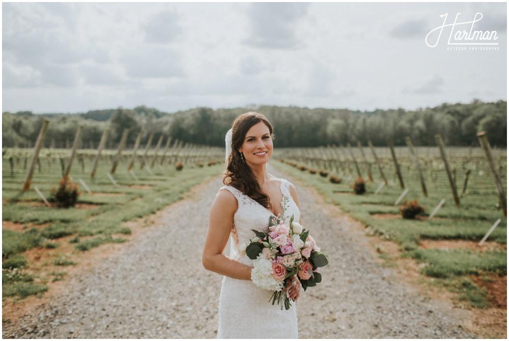North Carolina Boho Glam Wedding _0023