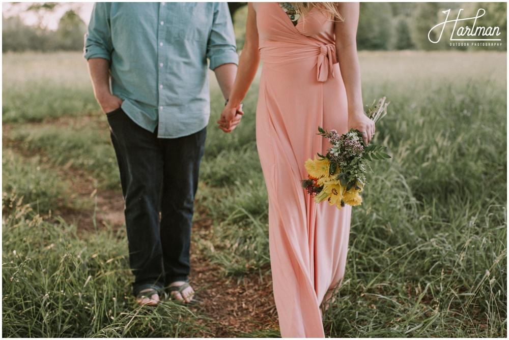 Asheville Bohemian outdoor Wedding _0069