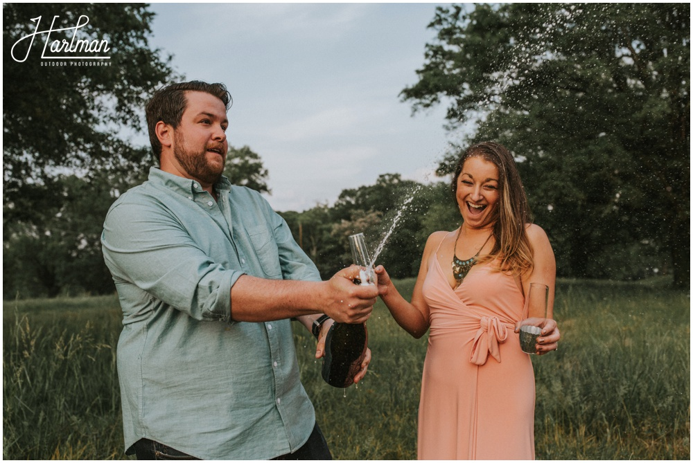 Blue Ridge Parkway Elopement Wedding Ceremony _0077