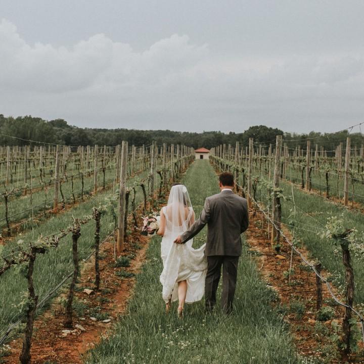 Josh + Jocelyn   North Carolina Vineyard Wedding