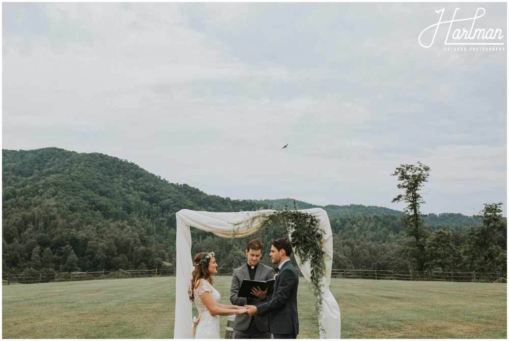 Asheville North Carolina Outdoor Mountain Wedding _0037