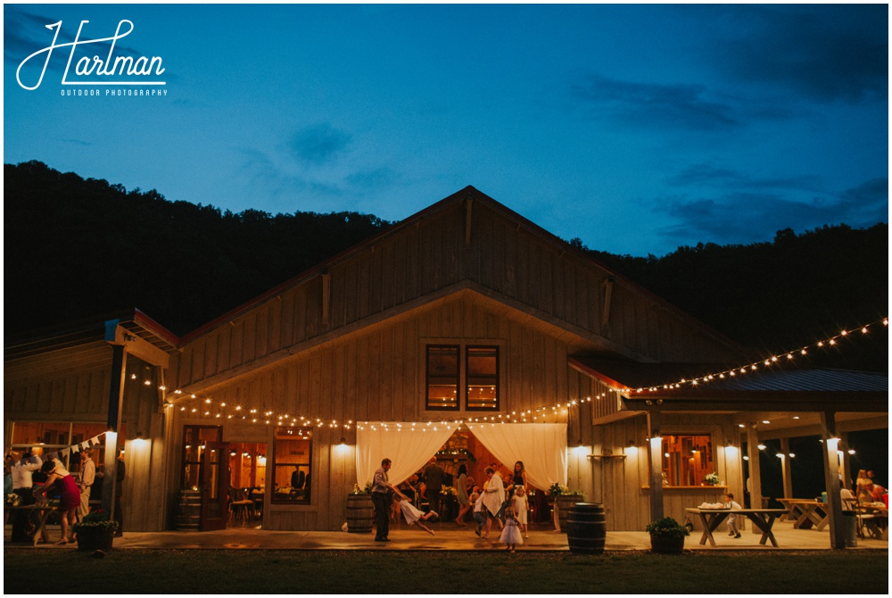 Clayton Farm Barn Wedding Asheville North Carolina _0089