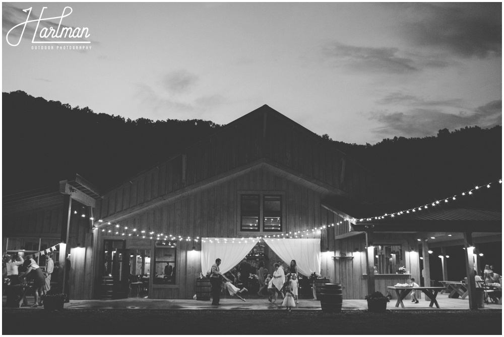Claxton Farm Asheville Barn Wedding Venue _0118