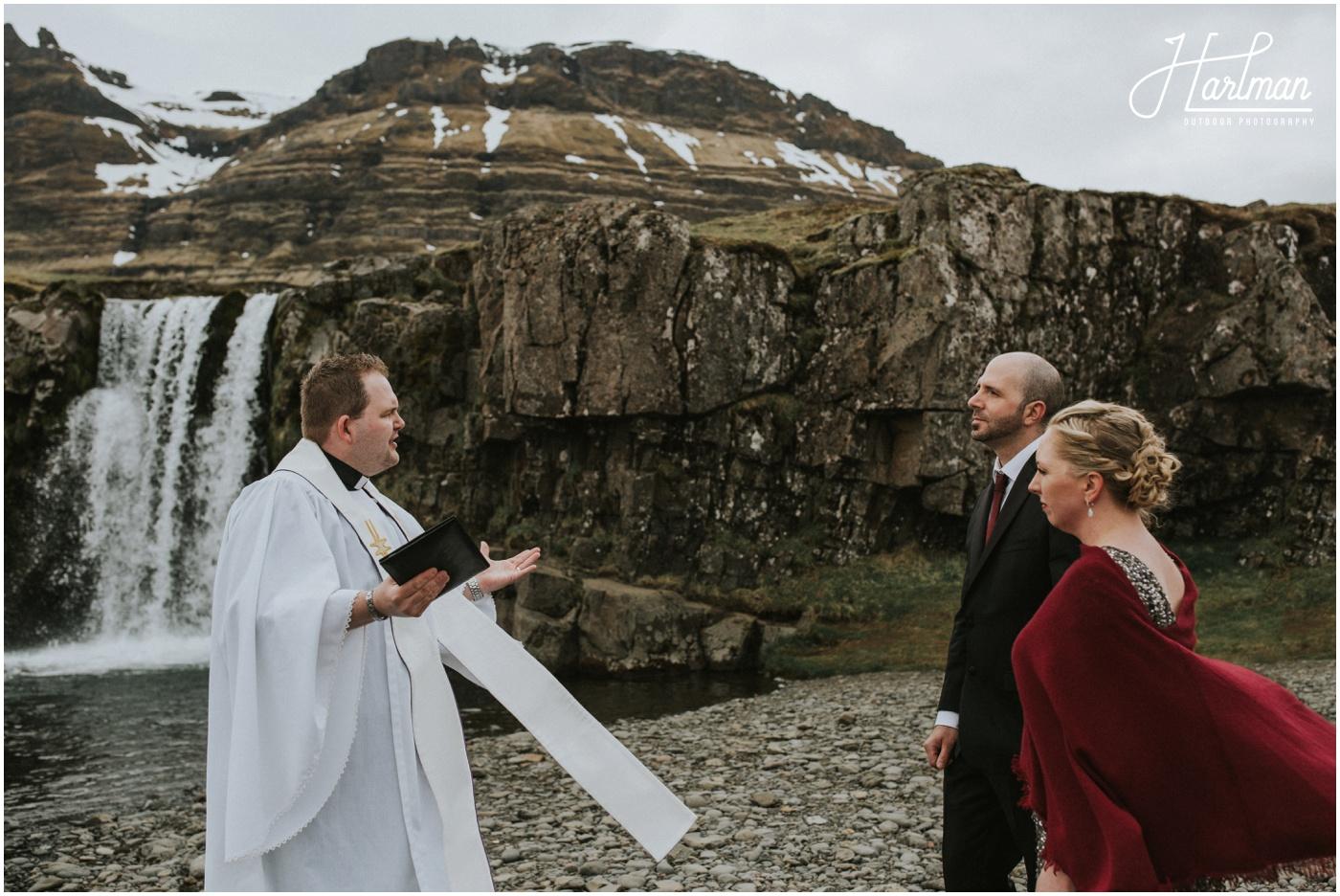 Iceland Waterfall Wedding_0045