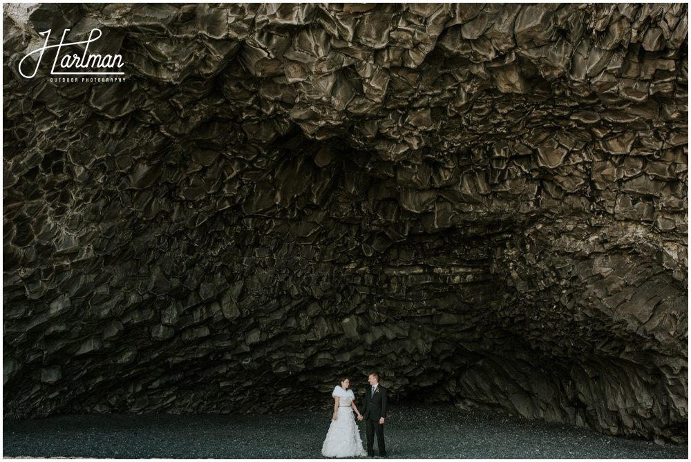 Iceland Black Sand Beach Wedding Photographer _0040