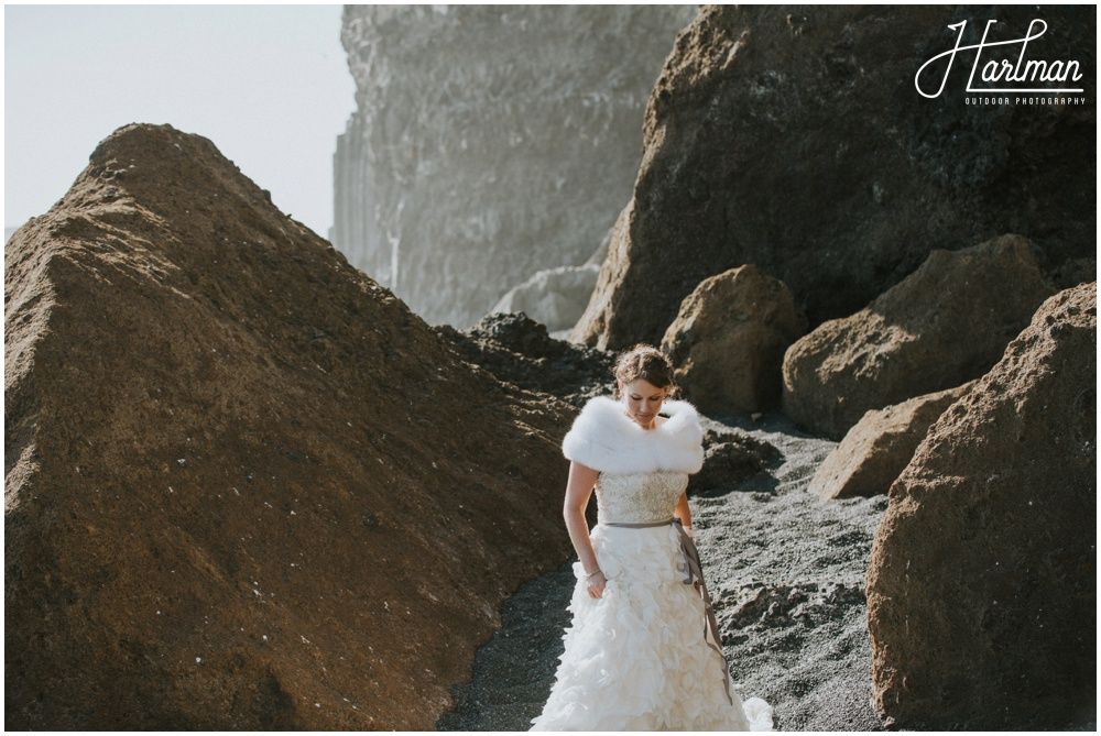 Reynisfjara Iceland Wedding_0049