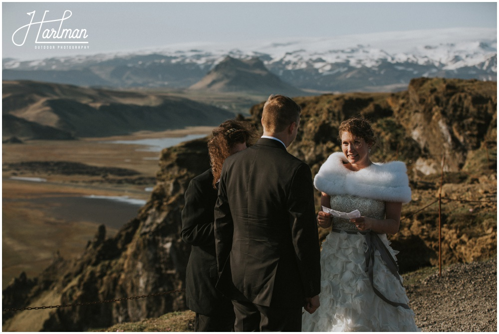 Epic Iceland Wedding Ceremony _0066