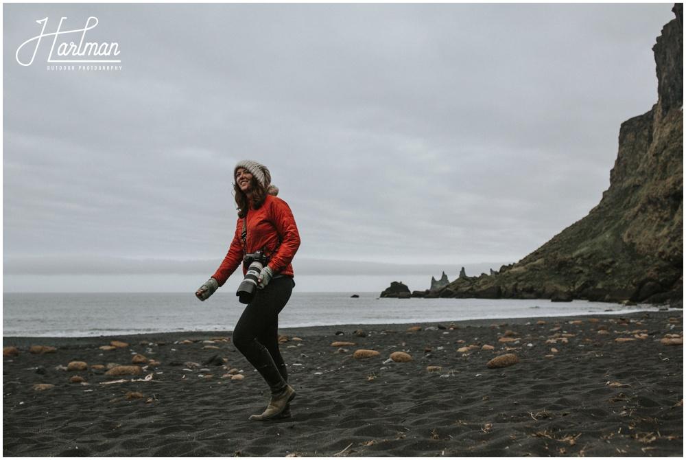 Iceland Wedding Black Sand Beach_0013