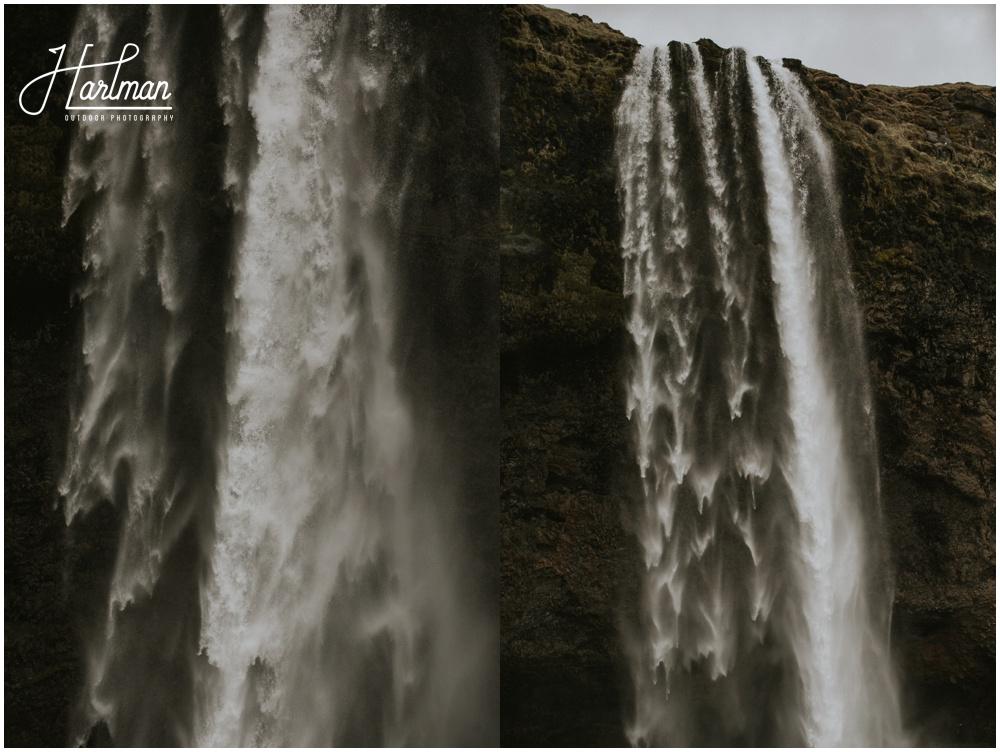 Seljalandsfoss Iceland Waterfall Wedding _0010