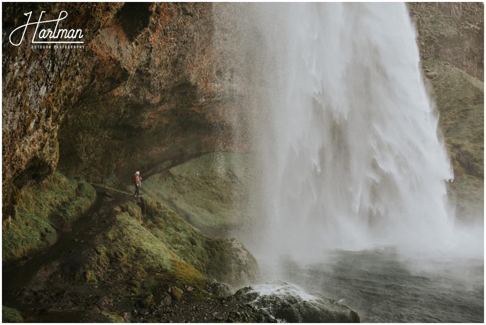 Seljalandsfoss Waterfall Wedding Ceremony _0012