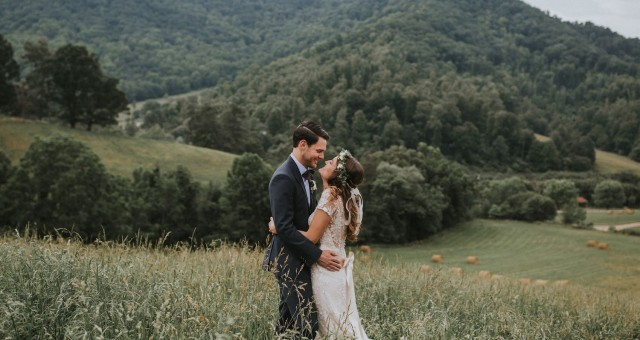 Kristin + Grayson | Claxton Farm Wedding in Asheville, NC
