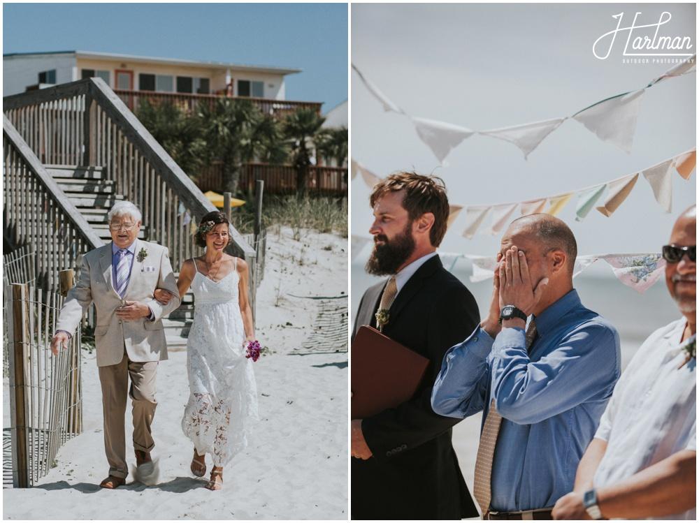Outer Banks Beach Wedding _0016