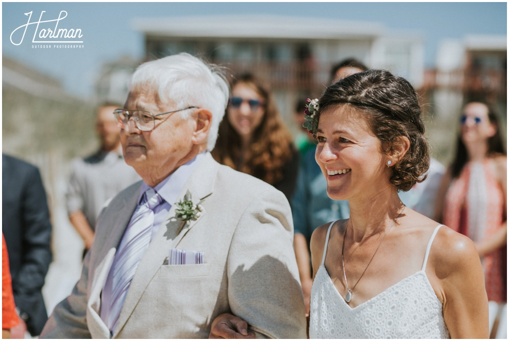 Outer Banks NC Outdoor Wedding Ceremony _0022