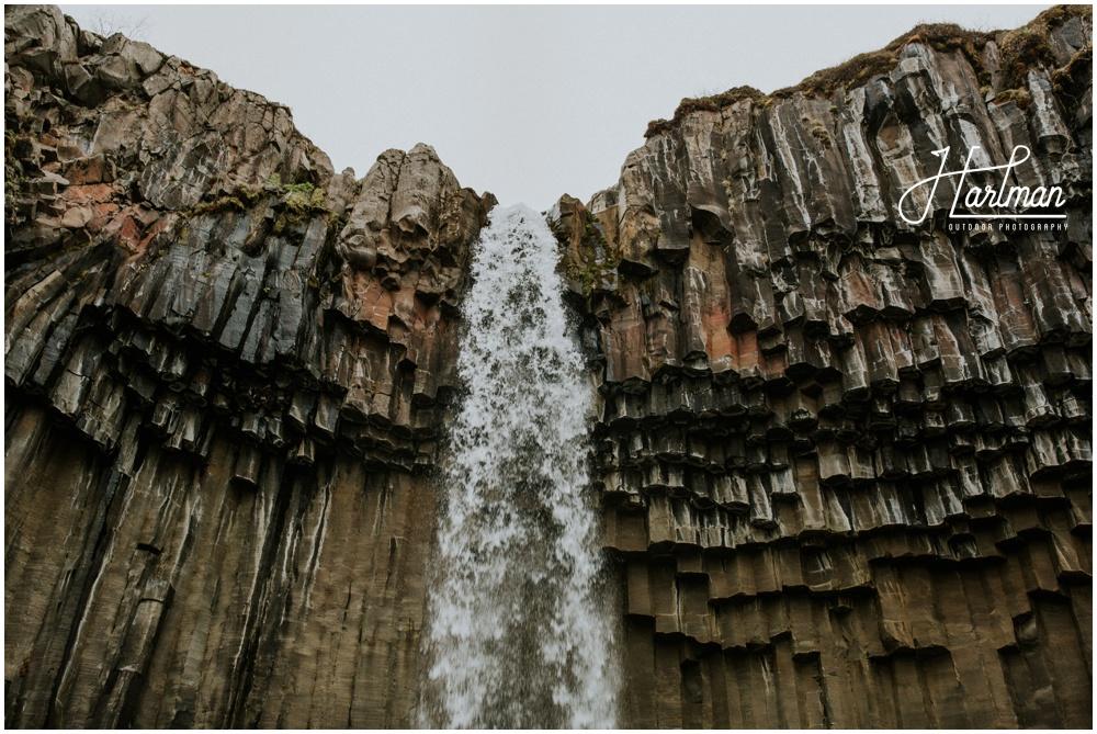 Basalt Waterfall Svartifoss _0003