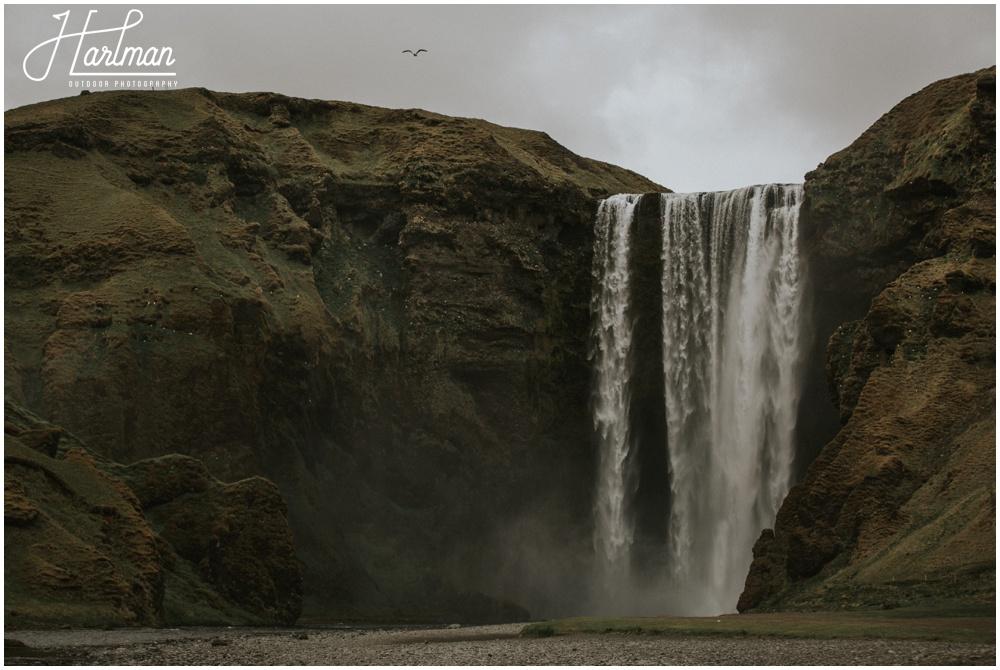 Skogafoss Waterfall Wedding _0001