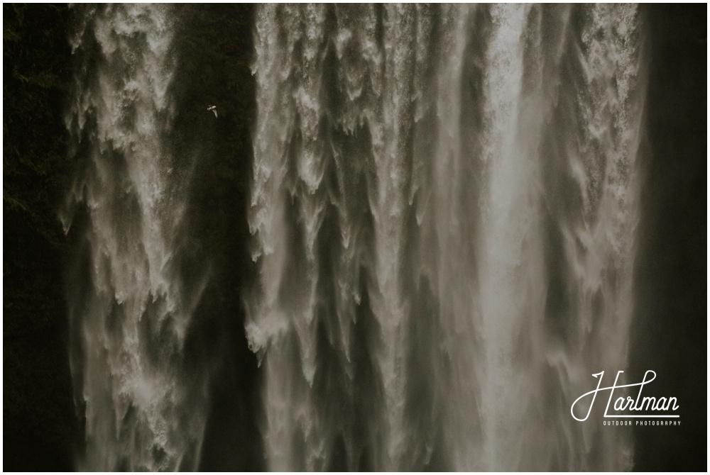 Skogafoss Waterfall Wedding Iceland _0003
