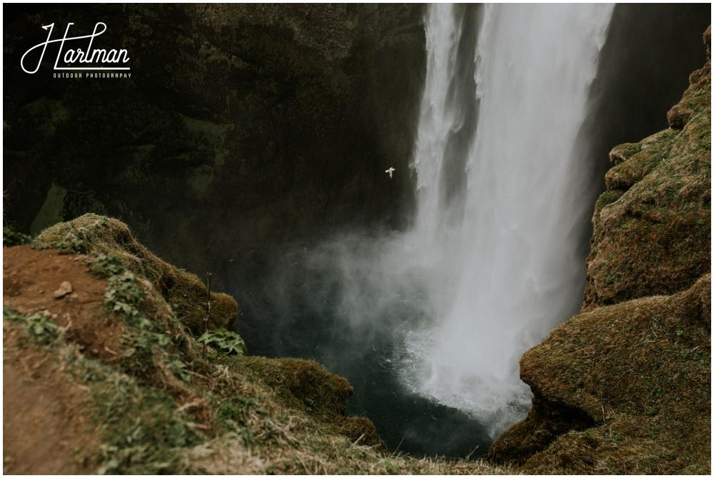 Iceland Waterfall Wedding Ceremony _0006