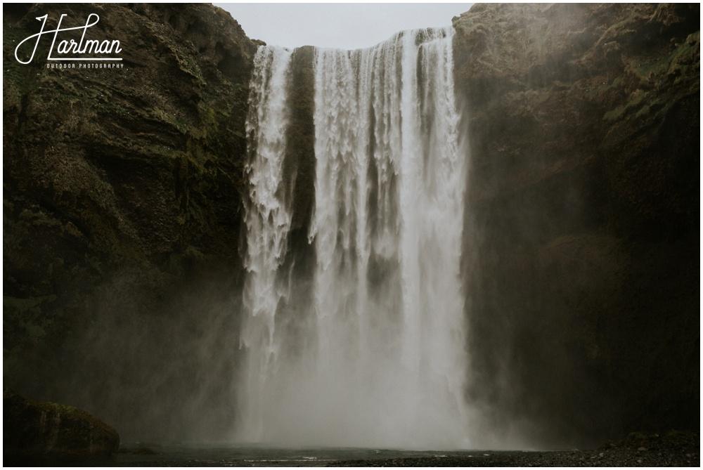 Skogafoss Waterfall Iceland _0009