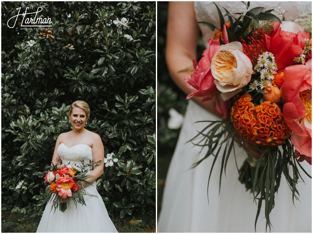 Asheville Wildflower Wedding Bouquet _0028
