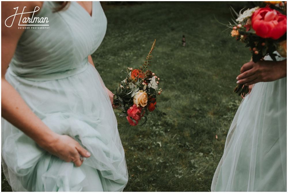 Asheville NC Wildflower Bridal Bouquet _0032