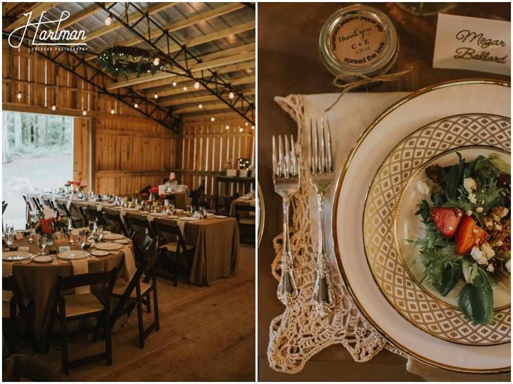 North Carolina Barn Wedding _0063