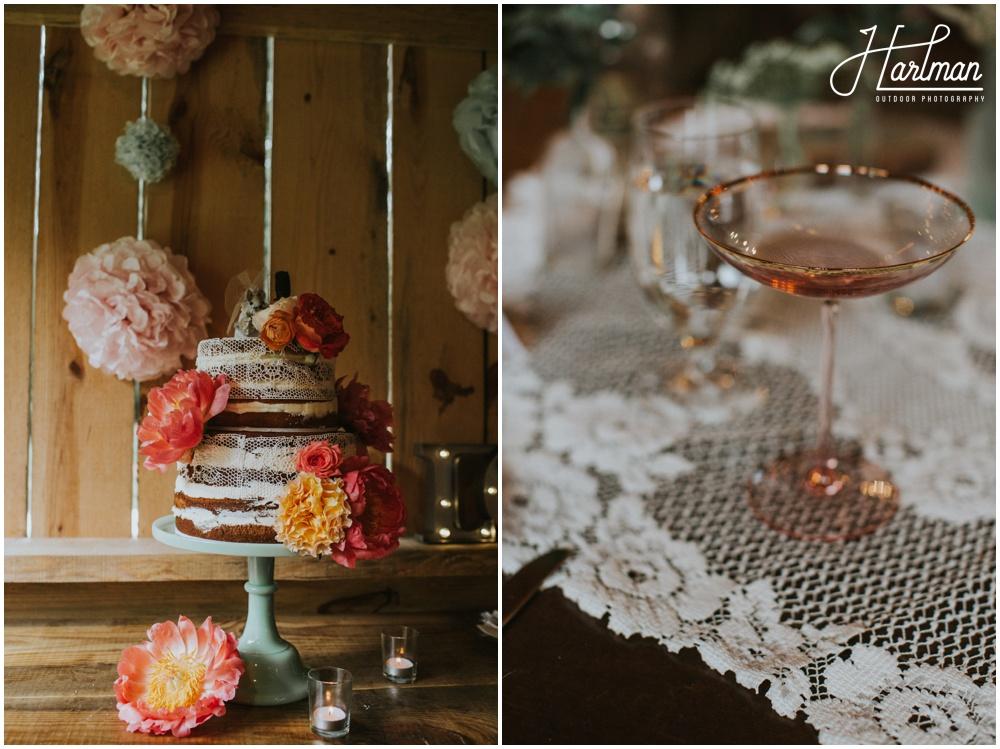 Vintage Colorful Asheville NC Wedding _0064