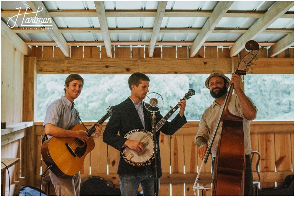 North Carolina blue grass wedding band _0099