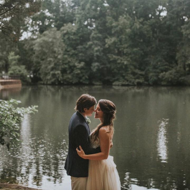 Dawn + Daniel | Earthy Backyard Wedding