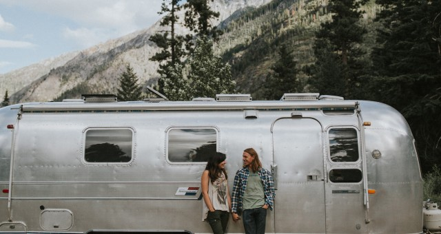 Gabi + Brandon  Airstream Session in Leavenworth, WA
