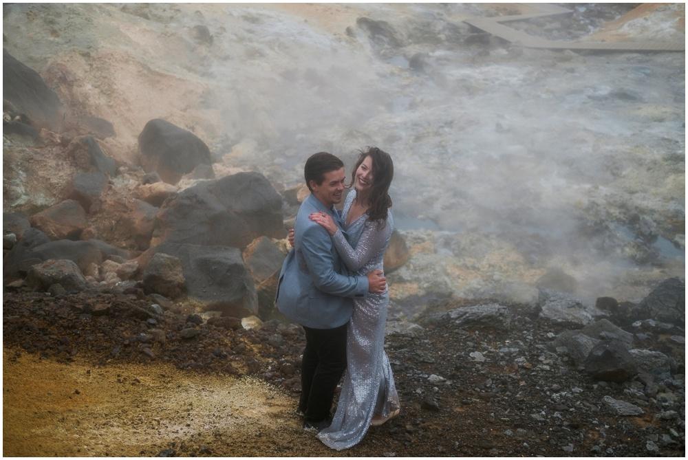 Iceland Geothermal Vow Renewal