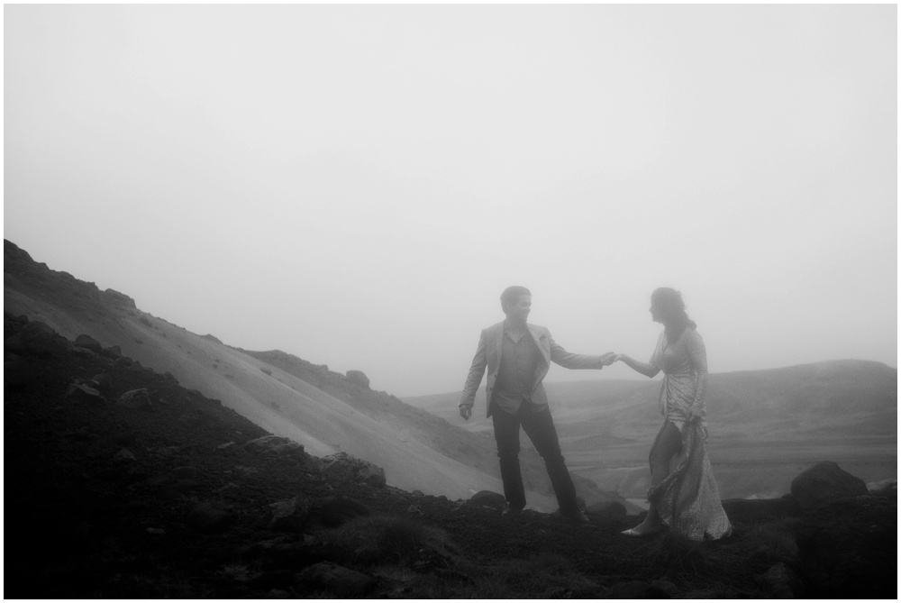 Iceland Geothermal Elopement