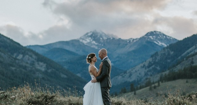 Kim + Kevin | Mountaintop Wedding in Winthrop, WA