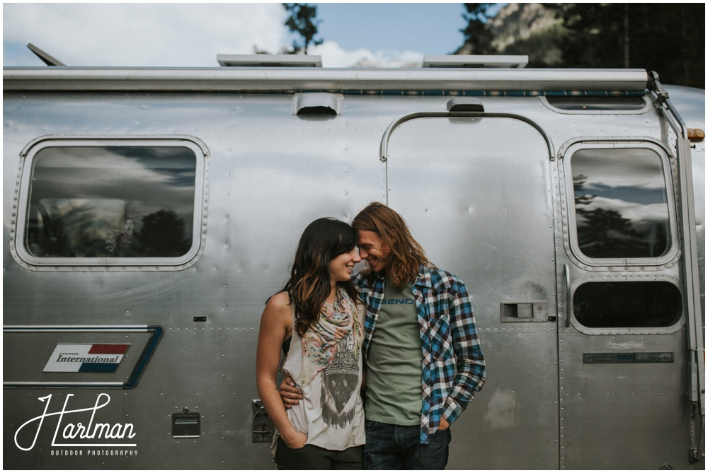 Airstream RV Trailer Engagement Session _0005