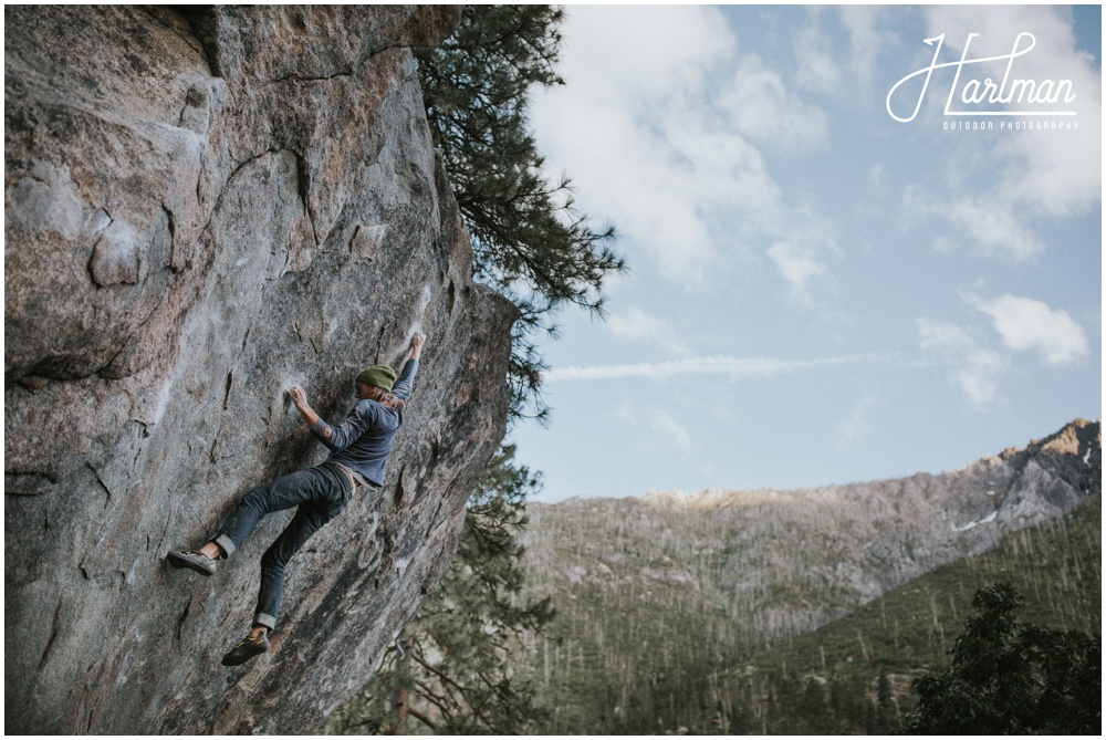 Rock Climbing engagement session Leavenworth Washington _0031