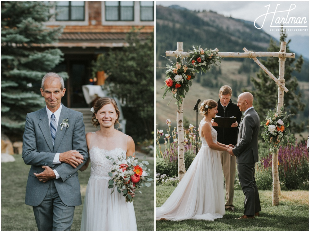Sun mountain lodge wedding ceremony _0063