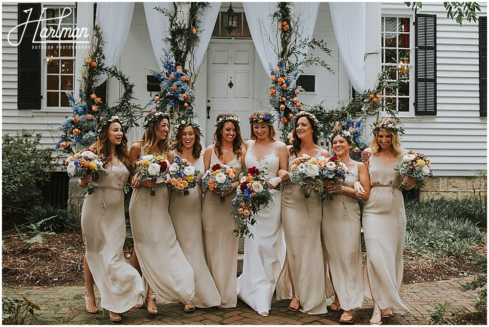 colorful Asheville wedding with Flower crowns_0015