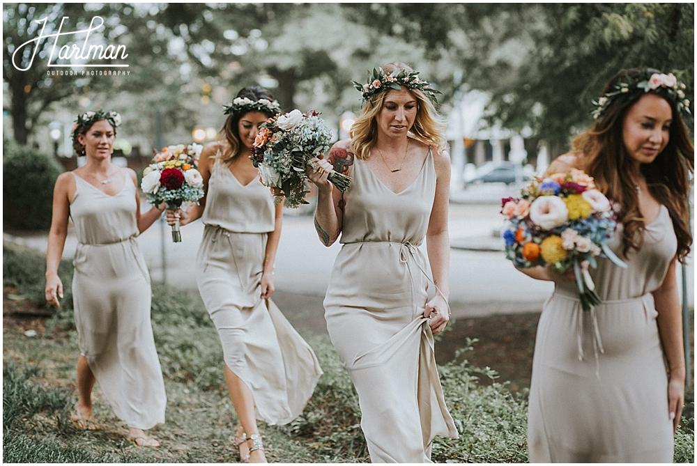 Asheville bohemian outdoor wedding _0033
